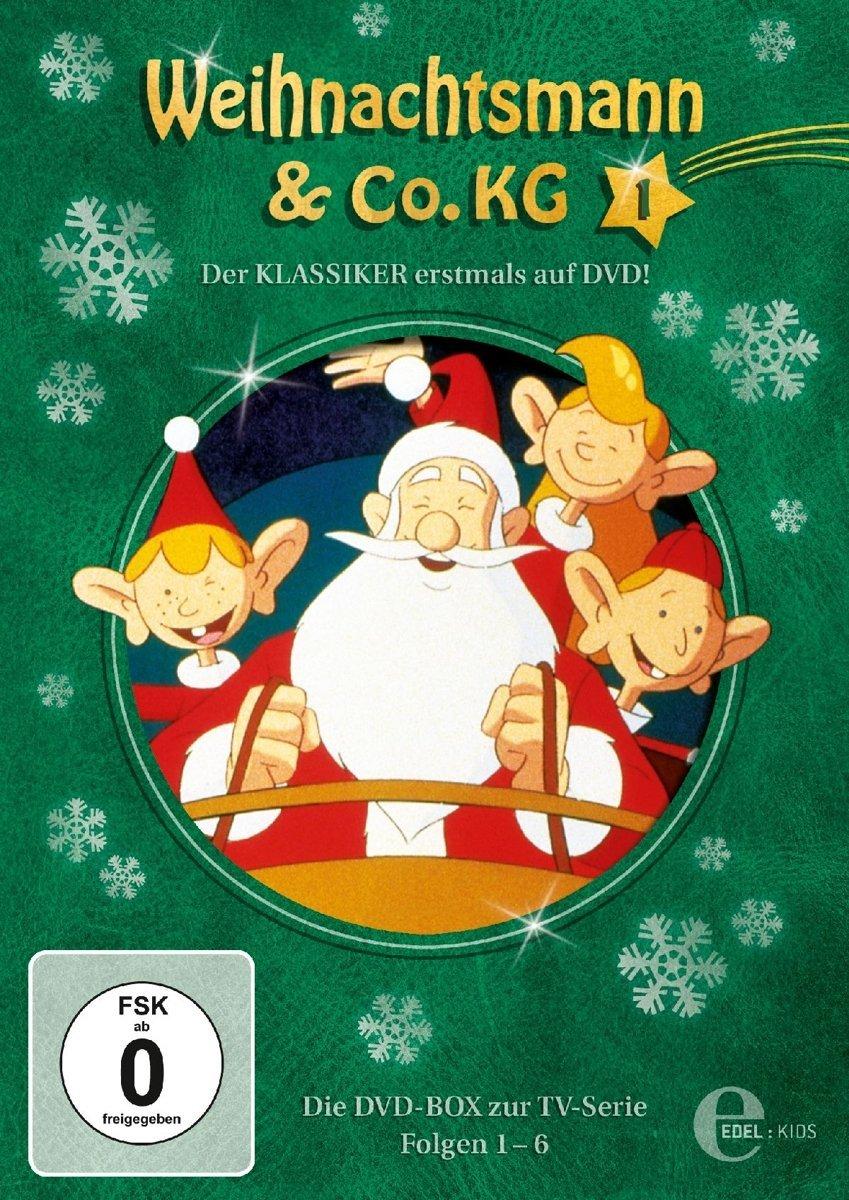 weihnachtsmann co kg dvd box 1 von edel kids b cherwesen. Black Bedroom Furniture Sets. Home Design Ideas